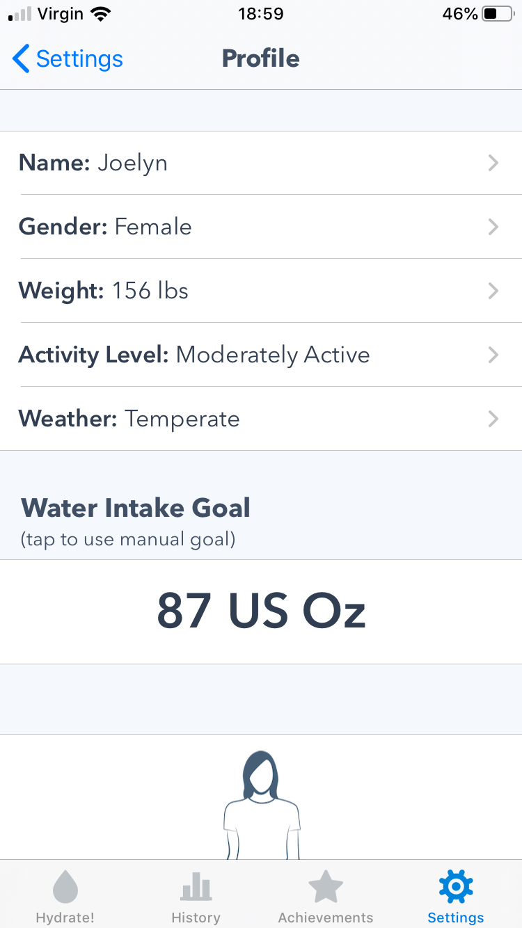 Daily Water Intake Goal Explained